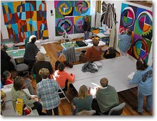 Crow Timber Frame Barn Art Retreats
