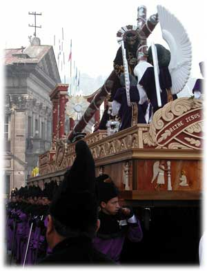 Guatemala Holy Week procession